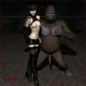 Vaesark Gorilla & Woman