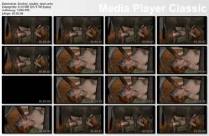Donkey Double Team 3D Video