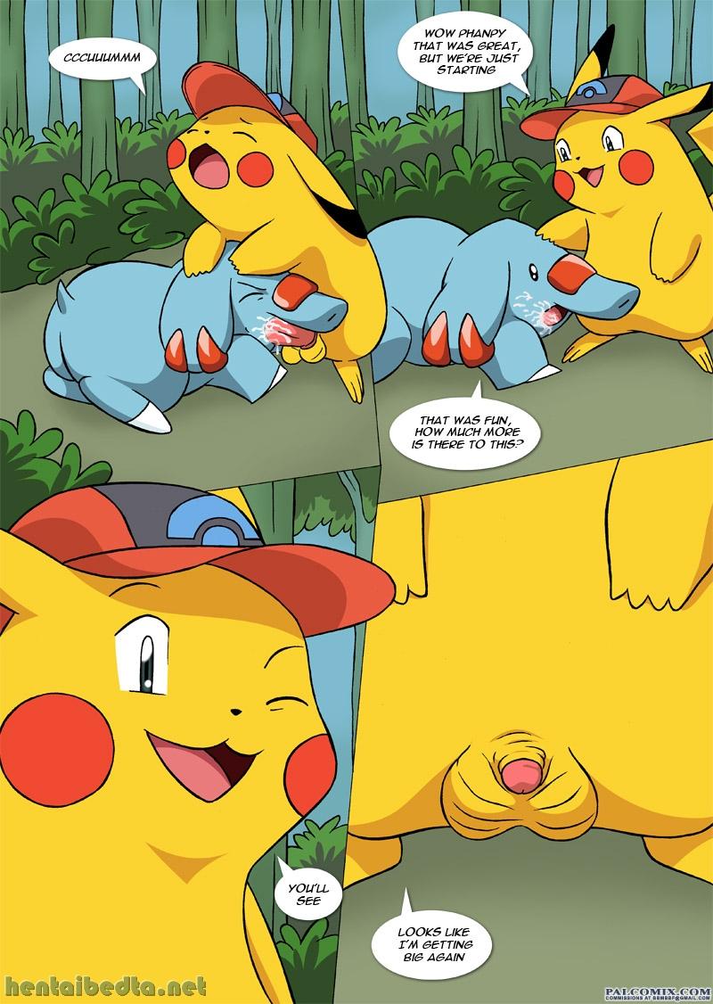 pokemon misty pikachu hentai comics - XXGASM
