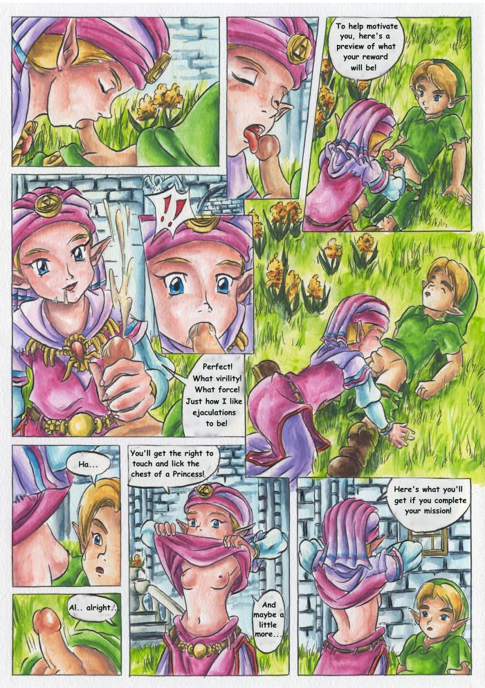 Legend of zelda porno