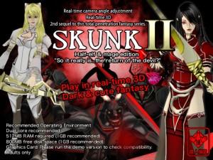 Real Time 3D dark Fantasy SKUNK II English Version